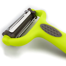 Load image into Gallery viewer, BRISSCOES - Green 3 in one Rotation Peeler