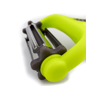BRISSCOES - Green 3 in one Rotation Peeler