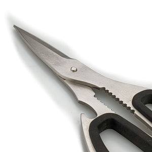 BRISSCOES - Full Stainless Steel Kitchen Scissors