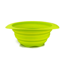 Load image into Gallery viewer, BRISSCOES - Green Silicone Collapsible Strainer