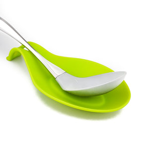 BRISSCOES - Green Silicone Utensil Rest
