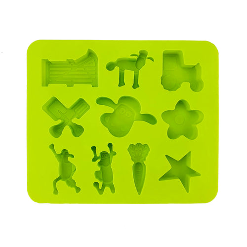 BRISSCOES - Green Silicone Cartoon Mould