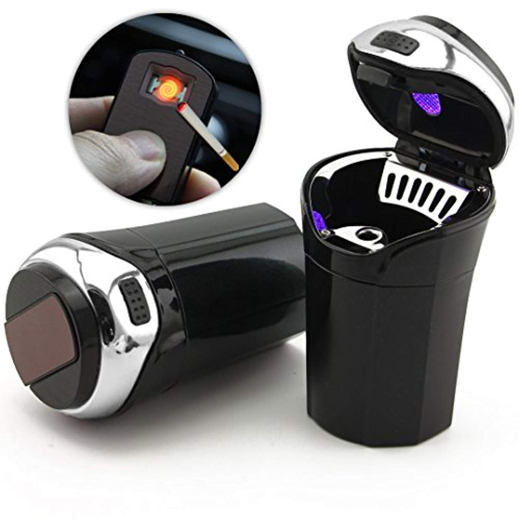 Car Ashtray, Easy Clean Up Detachable Stainless