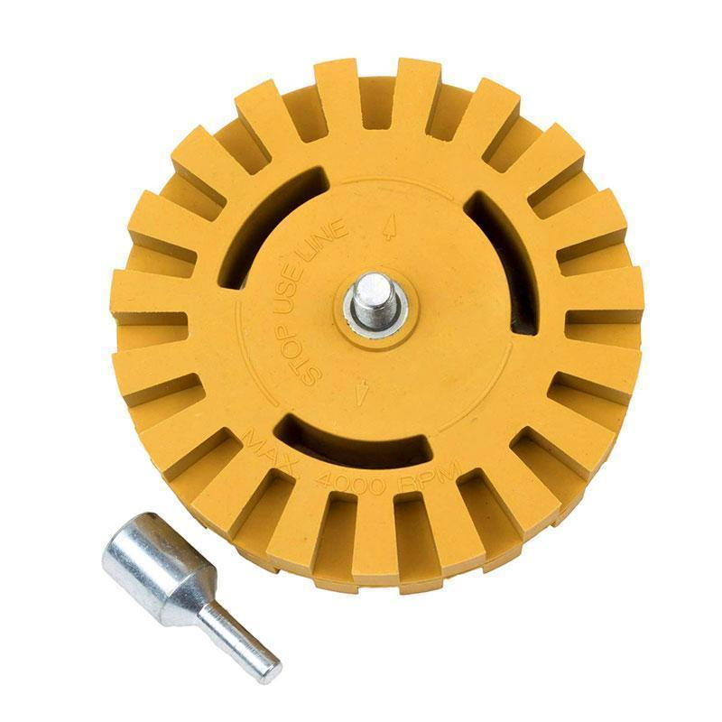Eraser Wheel for A Decal Clean Car In Minutes Decal Remover