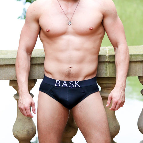 Bask all black brief