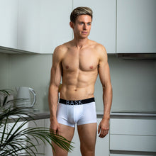 Load image into Gallery viewer, Bask Menswear White Boxers