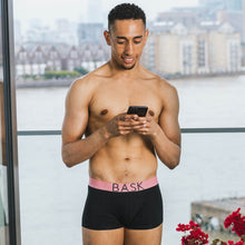 Load image into Gallery viewer, Bask Menswear black boxers