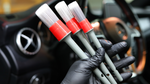 Car Detailing Brush Set (3 Brushes) Interior & Exterior