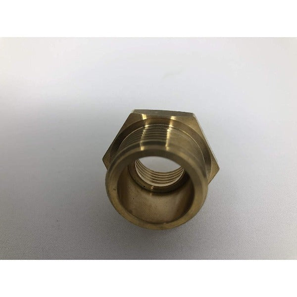 "3/4"" Male G Thread Water Pipe to 1/2"" Female NPT Thread Female Pipe Fitting Adapter - Cascada Showers"
