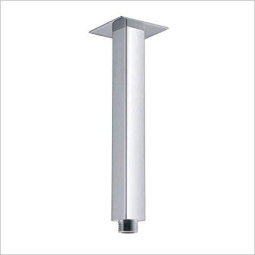 8-Inch Square Ceiling Mounted Shower Arm for Rain Shower Heads - Cascada Showers