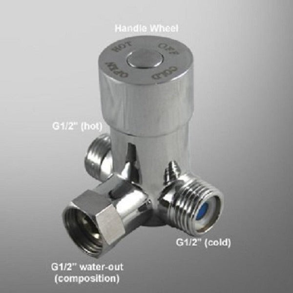 Touchless Temperature Mixing Valve for Sensor Faucet - Cascada Showers