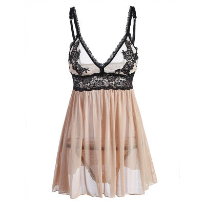 Champagne Dream Babydoll