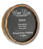 Wine List Quarter Barrel Chalkboard Sign - Personalized Gifts for Men - GUYVILLE