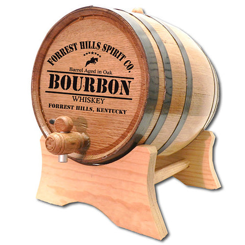 Derby Bourbon Personalized Bourbon Barrel