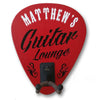 Personalized Guitar Wall Hanger