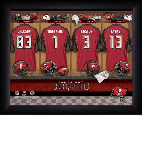 Personalized NFL Locker Room Signs - Tampa Bay Buccaneers - Personalized Gifts for Men - GUYVILLE