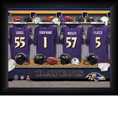 Personalized NFL Locker Room Signs - Baltimore Ravens - Personalized Gifts for Men - GUYVILLE