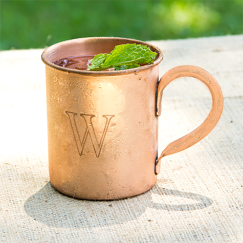 Personalized Moscow Mule Copper Mug with Polishing Cloth - Personalized Gifts for Men - GUYVILLE