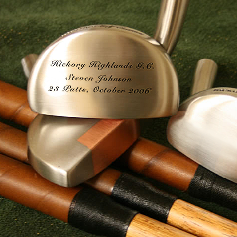 Personalized Mallet Putter with Headcover