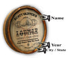 Personalized Seaside Lounge Color Quarter Barrel