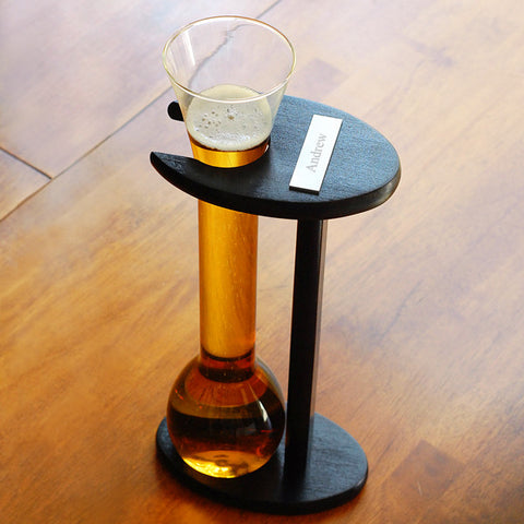 Engraved Half Yard Ale Glass with Stand (32oz.)