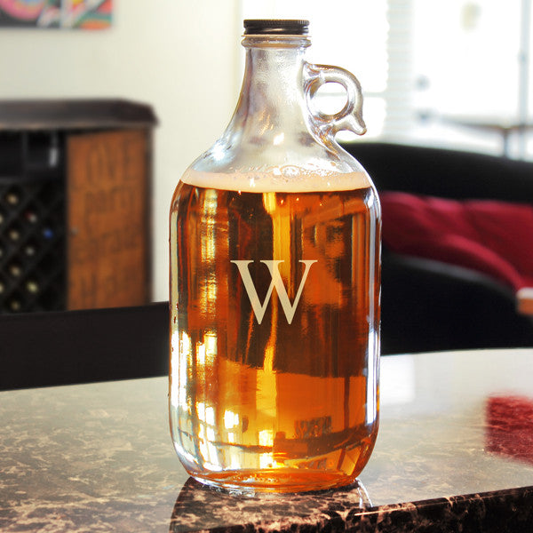 Etched Craft Beer Growler - Personalized Gifts for Men - GUYVILLE