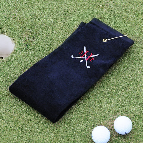 Golf Towel with Monogram