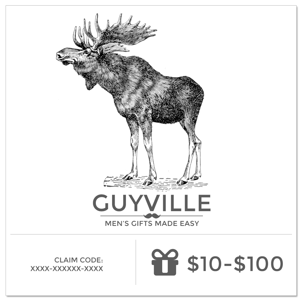 Gift Card - Personalized Gifts for Men - GUYVILLE
