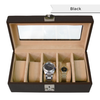 Personalized Nappa Leather Deluxe Five Watch Box