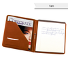 Personalized Nappa Leather Writing Padfolio - Personalized Gifts for Men - GUYVILLE