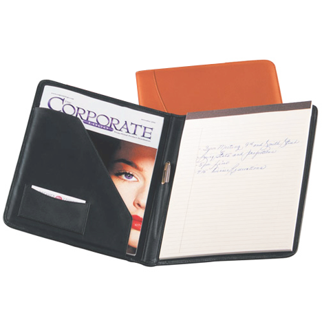 Personalized Nappa Leather Writing Padfolio
