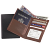 Personalized Nappa Leather Passport Currency Wallet - Personalized Gifts for Men - GUYVILLE