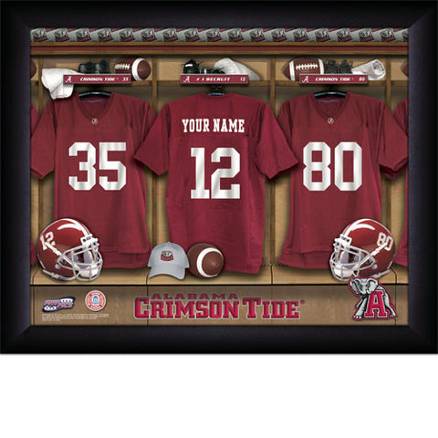 Personalized Alabama Crimson Tide Locker Room Signs