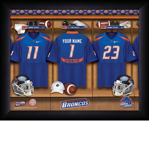 Personalized Boise State Broncos Football Locker Room Signs - Personalized Gifts for Men - GUYVILLE