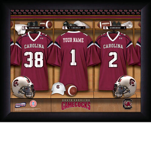 Personalized College South Carolina Football Locker Room Signs
