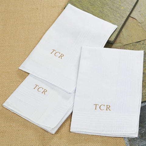 Personalized Hankies - Set of 3