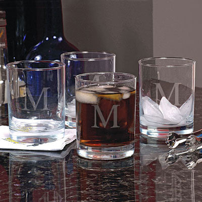 Personalized Highball Whiskey Glasses (set of 4)