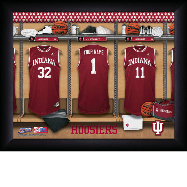 Personalized Indiana Hoosiers Basketball Locker Room Sign - Personalized Gifts for Men - GUYVILLE
