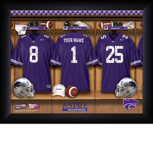 Personalized Kansas State Wildcats Football Locker Room Signs - Personalized Gifts for Men - GUYVILLE