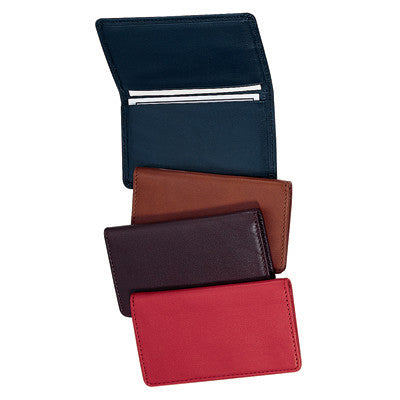 Personalized Nappa Leather Business Card Case