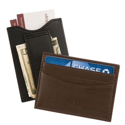 Personalized Nappa Leather Money Clip Wallet - Personalized Gifts for Men - GUYVILLE