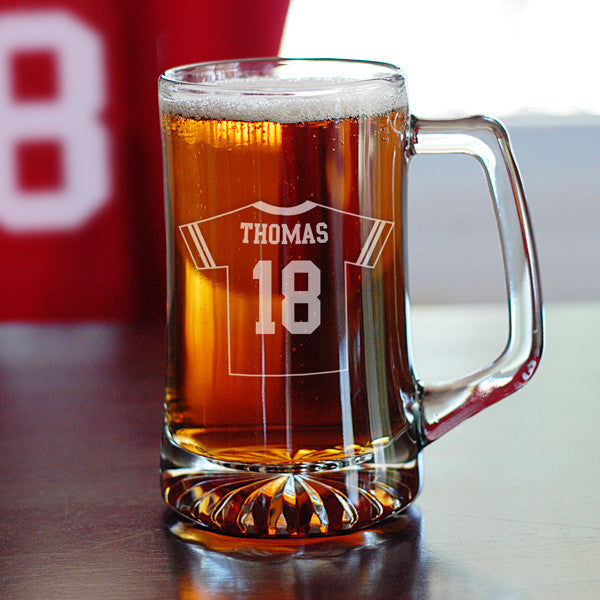 Personalized Sports Jersey Mugs