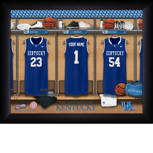 Personalized University of Kentucky Basketball Locker Room Sign
