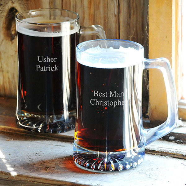 Set of 2 Personalized Sports Mugs - Personalized Gifts for Men - GUYVILLE