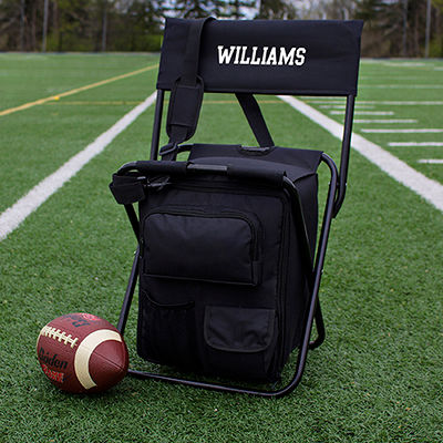 Tailgate Backpack Cooler Chair - Personalized