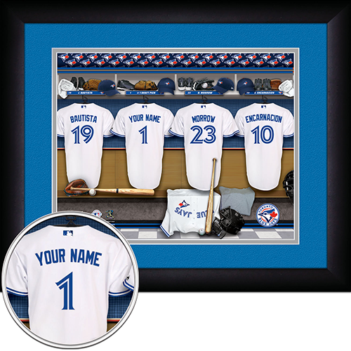 Personalized Toronto Blue Jays MLB Locker Room Sign - Personalized Gifts for Men - GUYVILLE