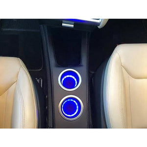 REFRESHED MODEL S FRONT CONSOLE WITH WIRELESS CHARGING