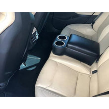 Universal Tesla Rear Seat Console Cupholder: FITS ALL TESLA MODELS!