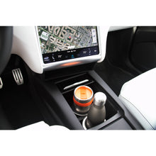 Center Cup Holder Insert (TCCI): Compatible with Model X & Model S