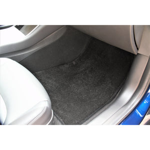 Ultra-plush Luxe Model X Luxe Mats (BLACK)